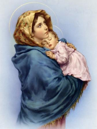Image result for blessed mother
