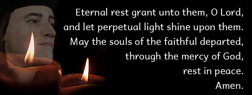 All Souls' Day, November 2, Pray For The Dead#AllSoulsDay